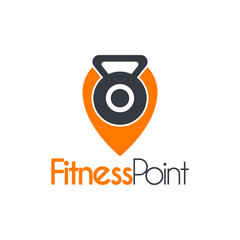 Vector Fitness Gym Point Place Logo template.