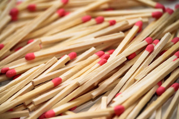 Wooden stick matches