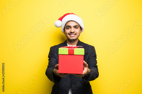 ef45db225 Closeup portrait of shocked and surprised handsome young man wearing ...