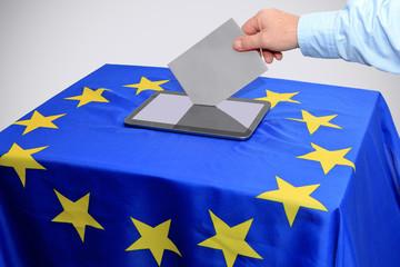 Stimmabgabe mittels Tablet, elekronische Stimmabgabe