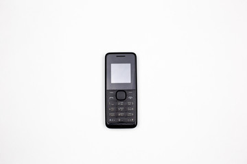push-button mobile phone