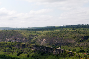 Panoramic of the landscape.