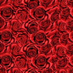 Rose flower Seamless pattern background texture. suitable for printing textile