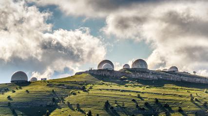 Radar station in Crimea, Russia