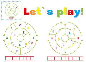 Play and write the words aircraft and helicopter