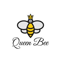 Bee honey graphic design template