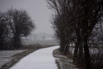winter landscapes of Bavaria