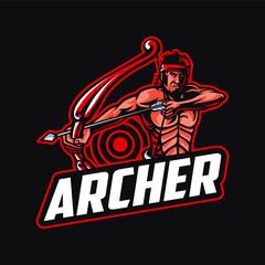 Archer mascot logo