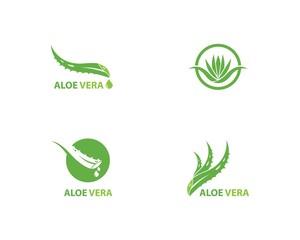 Aloe vera logo vector