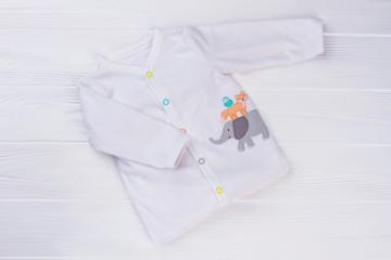 White baby toddler shirt.