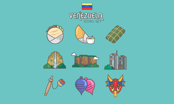 Venezuela Icon Set