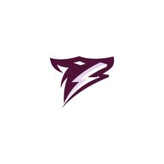 Creative Thunder Fox Logo-Symbol