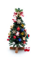 クリスマスツリーのアップ