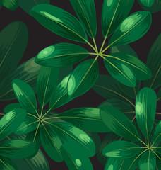 Seamless foliage pattern3