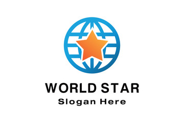 WORLD STAR LOGO DESIGN