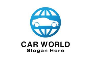 CAR WORLD LOGO DESIGN