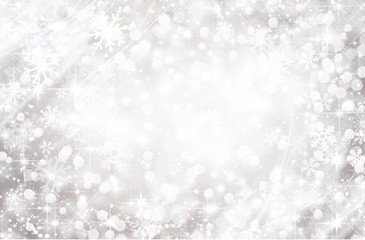 Christmas winter background, circles, snowflakes, snow, beige, gray, white, holiday, vacation, beautiful