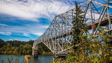 Bridge over the Columbia River Oregon