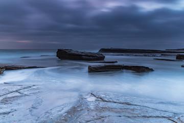 An Atmospheric Dawn Seascape