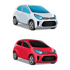 Modern cars vector.