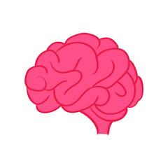 creative icon brain symbol design