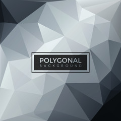 Lowpoly Polygonal Geometric Art Background