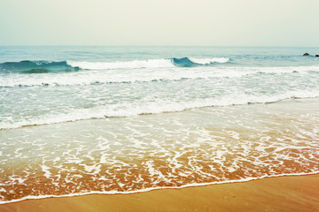 seascape paradise - travel, seascape, vacation and summer holidays concept
