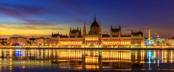 Hungarian Parliament Building (panoramic)