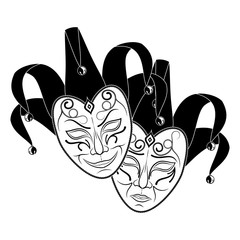 Theatrical mask_11