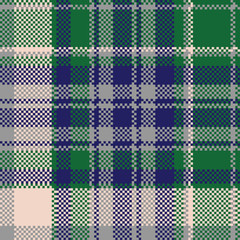 Tartan textile check texture seamless pattern
