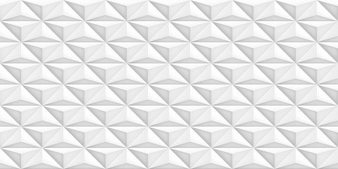 Volume realistic vector light texture, geometric seamless tiles pattern, design white background for you projects