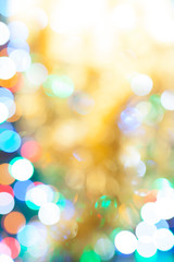 Bokeh effect blurry lighting abstract background