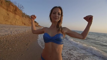 Пляжные видео крупным планом — img 12
