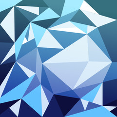 Polygon geometric abstract background ultraviolet concept