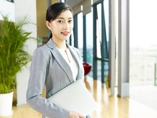 portrait of a young asian business woman