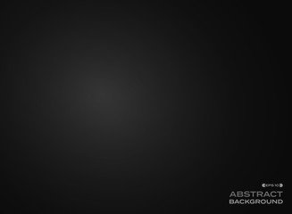 Abstract clear gradient black background.