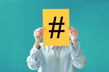 Le Hashtag outil image