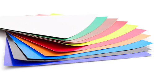 Paper is colorful background