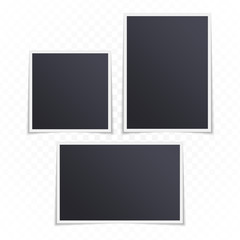 Retro photo frame set.