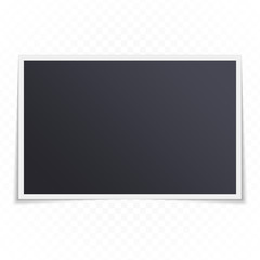 Photo frame template.