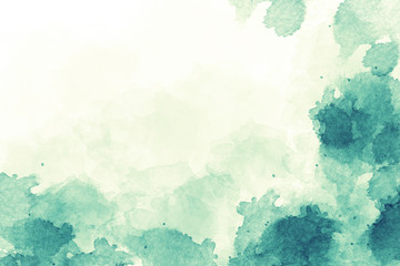 Light sea green watercolor background