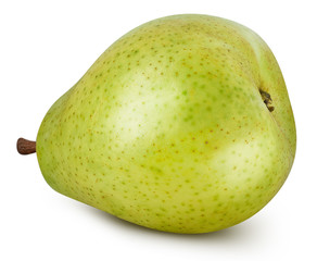 Pears isolated on white