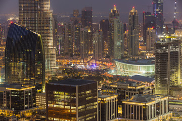 Burj Khalifa and Dubai Opera