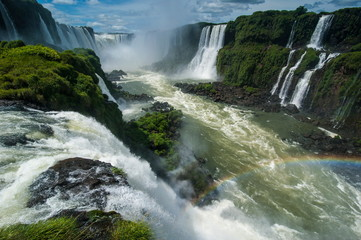 Foz de Iguazu (Iguacu Falls), the largest waterfalls in the world, Iguacu National Park, UNESCO World Heritage Site, Brazil, South America