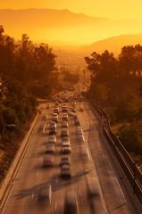 Route 110, Los Angeles, California, United States of America, North America