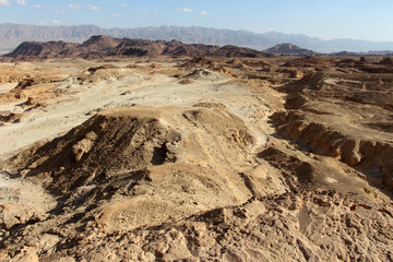 View on Valley in Timna National Park. Israel