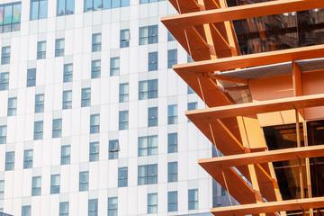 modern steel architecture building