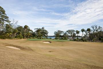 Scenic golf course