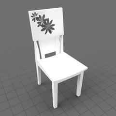 Modern dining chair 14