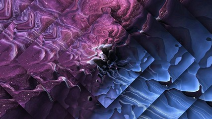 Purple graphic watercolor art. Cosmic fantasy background. Fractal pattern in deep space colors. Digital painting abstraction in high resolution. Stock. Creative design.